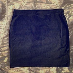 Athletic mini skirt